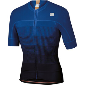 Sportful Bodyfit Pro Evo Jersey Men, black blue twilight gold